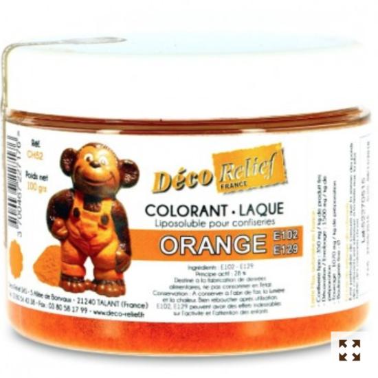 colorant alimentar liposolubil